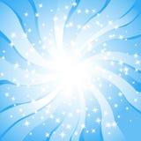 remous de lumière du soleil illustration de vecteur
