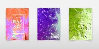 Remous de marbre ou des ondulations de l'agate Texture de marbre liquide Art liquide Applicable pour des couvertures de conceptio illustration de vecteur
