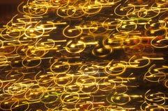 Remous de résumé de lumière Photo libre de droits
