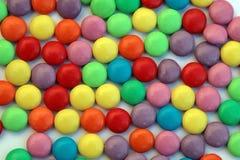 Remous de sucrerie - smarties Image libre de droits