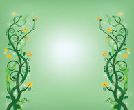 Remous de vert Photos libres de droits