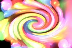 Remous en pastel coloré Images libres de droits