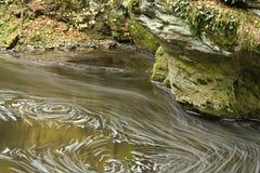 Remous en rivière Images libres de droits