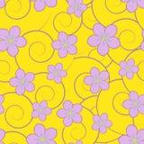 Remous et fleurs Photographie stock libre de droits