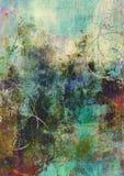 Remous sur la vieille toile peinte illustration libre de droits