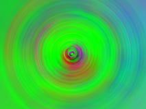 Remous vert abstrait Images libres de droits