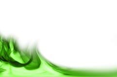 Remous verts d'abstrait. Image stock
