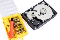 Removable Harddisk Device Royalty Free Stock Photos