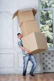 Removal is not easy thing Royalty Free Stock Photography