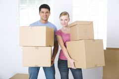 Removal to new home Stock Image