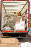Removals van or truck Stock Images