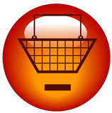 Remove from cart icon Royalty Free Stock Image