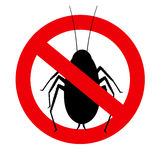 Remove Cockroaches Vector Sign Royalty Free Stock Photos