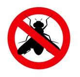 Remove Flies Symbol. Vector Illustration Stock Image