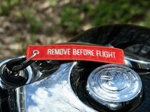 Remove before flight Royalty Free Stock Photography