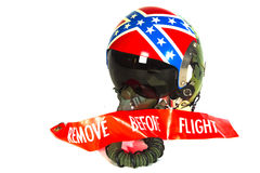 Remove before flight Stock Photography