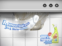 Remove grease detergent Royalty Free Stock Photography