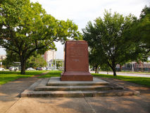Removed Confederate Women`s Memorial Pedestal Royalty Free Stock Photography