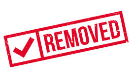 Removed rubber stamp Royalty Free Stock Images