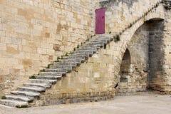 Rempart et escaliers Photo stock