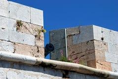 Remparts avec Canon, Gibraltar photos libres de droits