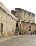Remparts d'Aigues-Mortes, France Image stock