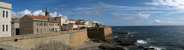 Remparts d'Alghero's Photos stock