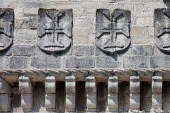 Remparts de la tour de Belem photos libres de droits
