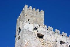 Remparts de mur de château Photographie stock libre de droits