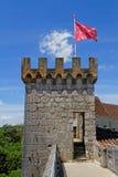 Remparts de Rocamadour Photographie stock libre de droits