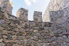 remparts, forteresse et château de Consuegra à Toledo, Espagne Images libres de droits