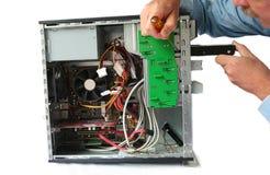 Remplacement d'unité de disque dur images stock