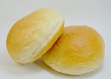 Remplissage de crème anglaise de pain Photographie stock