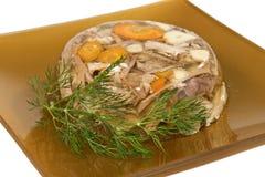 Remplissage de viande. Image libre de droits