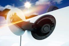 Remplissage de voiture d'admission de gaz Photos libres de droits
