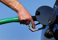 Remplissez de combustible/réapprovisionnez en combustible Image libre de droits