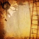 remsa för bakgrundsfilmgrunge Arkivbild