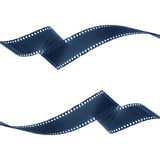 Remsa för negativ film Arkivbild