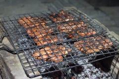 remsa för steaks för steak för stöd för delmonicogallerfransyska Arkivfoto