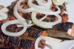 remsa för steaks för steak för stöd för delmonicogallerfransyska Arkivbild