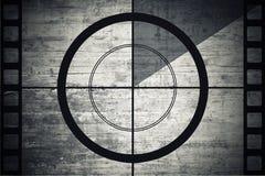 Remsa för tappningfilmfilm med nedräkninggränsen royaltyfri fotografi