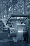 Remsa och mekanisk utrustning i en fabrik Royaltyfri Fotografi