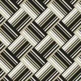 Remsageometribakgrund med cirklar Royaltyfri Foto