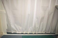Remsan för väggen för DIY-duschhåller fast vid den anti-färgstänk med anti-gardinen Rod An Royaltyfria Bilder
