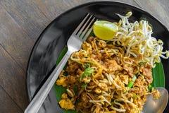 Remuez le style de Fried Noodle Thai Korat images stock