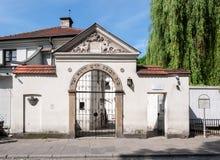 Remuhsynagoge in Krakau, Polen stock afbeelding