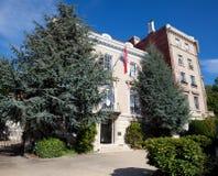 Renässans för italienare för ambassadKroatienWashington DC 库存图片
