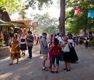 Renässansmarknadsplats Royaltyfri Bild
