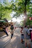 Renässansmarknadsplats Arkivbilder
