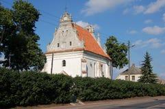 "RenässansSt Anna kyrka i Konskowola (den KoÅ ""skowolaen), Polen Arkivfoto"